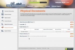 screenshot - physi docs